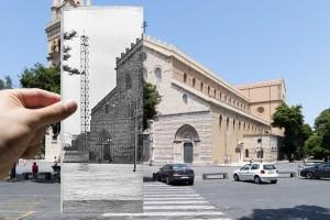 Piazza-Duomo-a-Messina-durante-la-costruzione-del-campanile-nel-1926